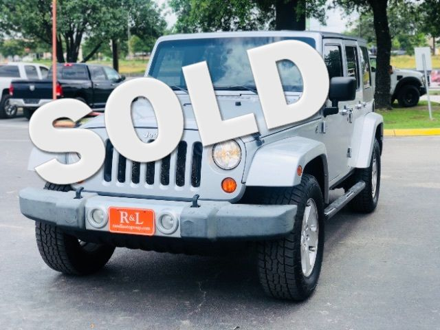 2009 Jeep Wrangler Unlimited Sahara in San Antonio, TX 78233