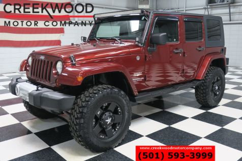 2009 Jeep Wrangler Unlimited Sahara 4-Door 4x4 Hardtop Lifted XD 18s M/T Tires in Searcy, AR