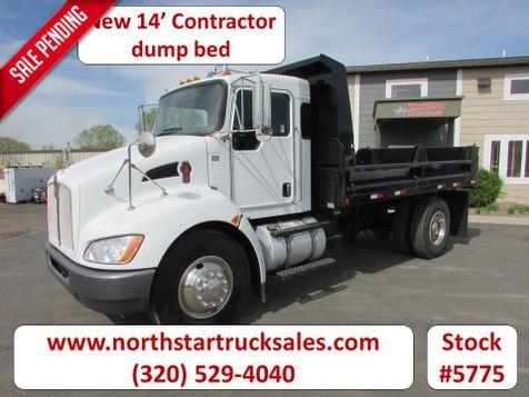2009 Kenworth T370 New 14' Contractor Dump  in St Cloud, MN