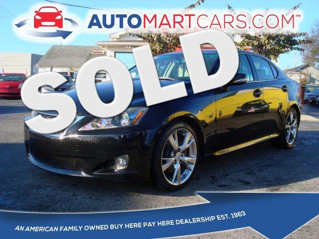 2009 Lexus IS 250  | Nashville, Tennessee | Auto Mart Used Cars Inc. in Nashville Tennessee