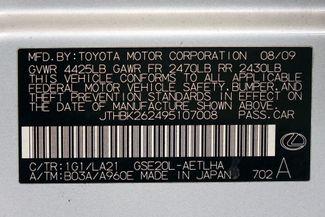 2009 Lexus IS 250 A/C Seats * HID's * Premium Pkg * 18's * KEYLESS Plano, Texas 46