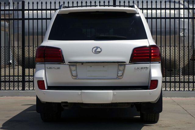 2009 Lexus LX 570 A/C SEATS * Park Assist * NAVI * Mark Levinson * Plano, Texas 8