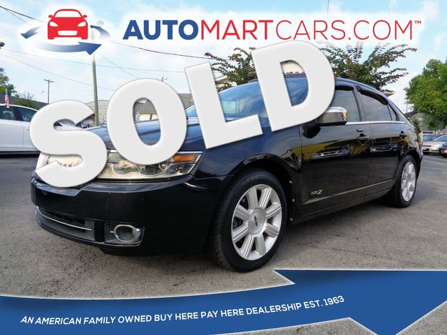 2009 Lincoln MKZ    Nashville, Tennessee   Auto Mart Used Cars Inc. in Nashville Tennessee