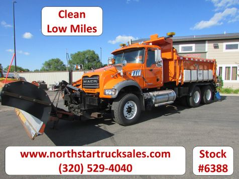 2009 Mack Granite Tandem Axle Dump Plow Truck  in St Cloud, MN