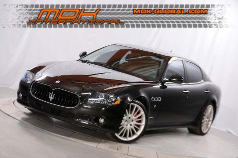 2009 Maserati Quattroporte Sport GT S - CARBON / ALCANTARA INTERIOR in Los Angeles