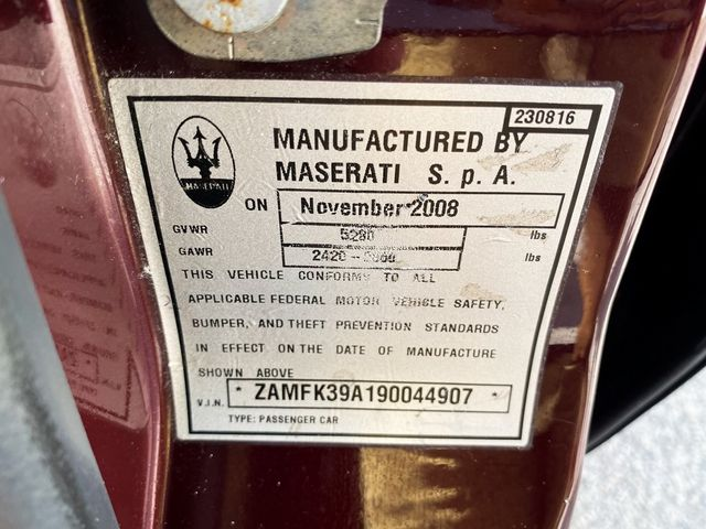 2009 Maserati Quattroporte Base Madison, NC 29