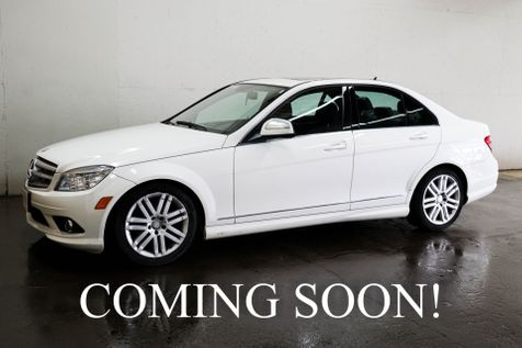 2009 Mercedes-Benz C300 Sport 4MATIC AWD Luxury Sedan w/Heated Seats, Power Moonroof, AMG Styling and Multi-Spoke Wheels in Eau Claire