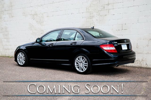 """2009 Mercedes-Benz C300 Sport 4MATIC AWD Luxury Car w/AMG Styling, Moonroof, Heated Seats, Driver's Memory & 17"""" Rims in Eau Claire, Wisconsin 54703"""