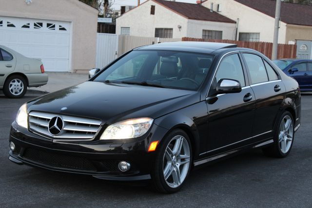 2009 Mercedes-Benz C350 3.5L SPORT NAVIGATION HEATED SEATS SERVICE RECORDS in Van Nuys, CA 91406