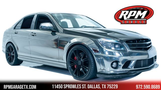 2009 Mercedes-Benz C63 6.3L AMG with Many Upgrades