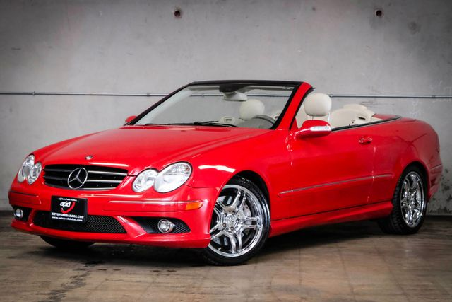 2009 Mercedes-Benz CLK550 5.5L in Addison, TX 75001