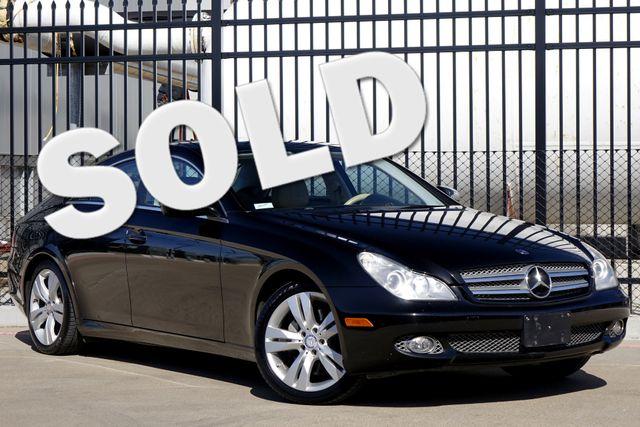 2009 Mercedes-Benz CLS550 Premium Pkg * Keyless * NAVI * A/C Seats * SUNROOF Plano, Texas