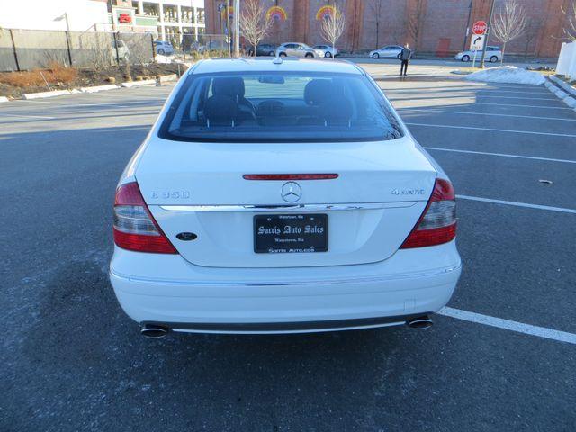2009 Mercedes-Benz E350 Sport 3.5L Watertown, Massachusetts 4
