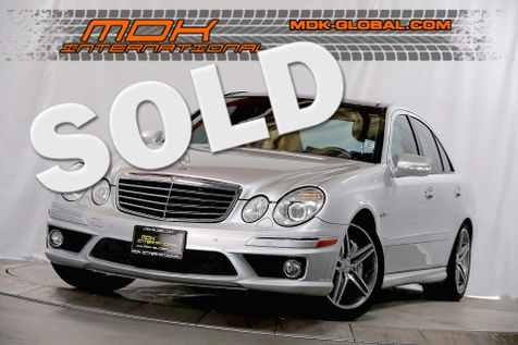 2009 Mercedes-Benz E63 6.3L AMG - Premium II pkg - Panoramic sunroof in Los Angeles