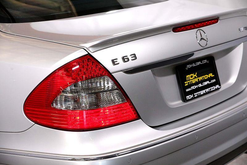 2009 Mercedes-Benz E63 63L AMG - Premium II pkg - Panoramic sunroof  city California  MDK International  in Los Angeles, California