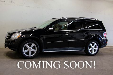 2009 Mercedes-Benz GL450 4Matic 4WD Luxury SUV w/3rd Row Seats Navigation Dual-Screen DVD Heated Seats & 20