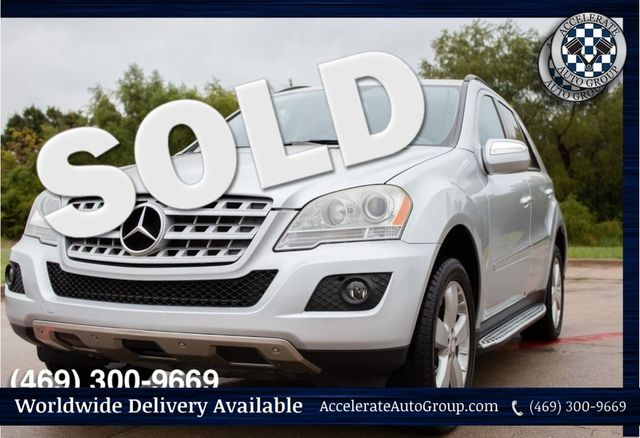 2009 Mercedes-Benz M Class ML350 in Rowlett