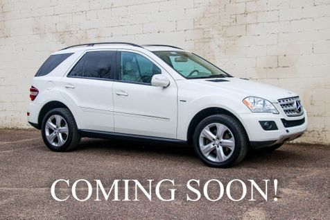 2009 Mercedes-Benz ML320 4MATIC AWD BlueTEC Clean Diesel w/Navigation, Backup Cam, Heated Seats & Moonroof in Eau Claire