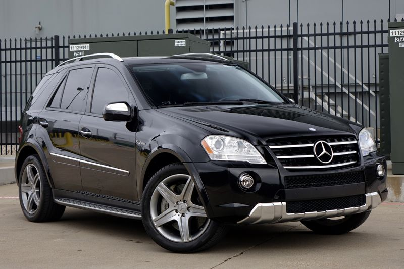 2009 Mercedes-Benz ML63 6.3L AMG* NAV* BU Cam* 503 HP***   Plano, TX   Carrick's Autos in Plano TX