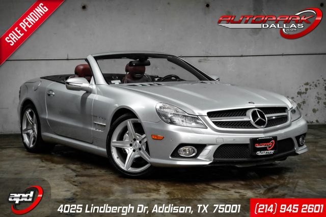 2009 Mercedes-Benz SL550 V8 in Addison, TX 75001