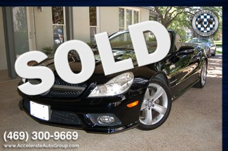 2009 Mercedes-Benz SL550 V8 CERTIFIED PRE-OWNED ONLY 38,905 MILES in Rowlett