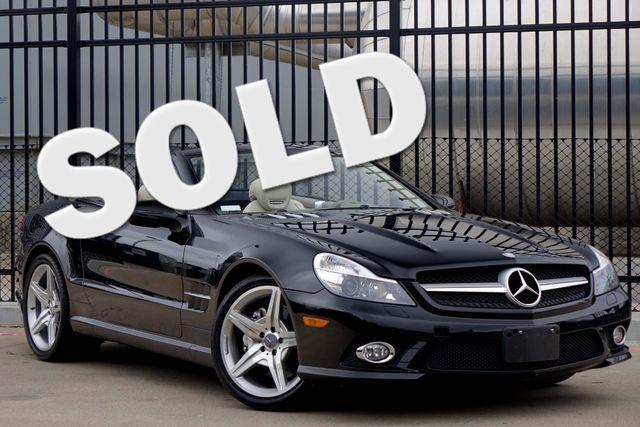 2009 Mercedes-Benz SL550 55k Miles * A/C SEATS * Keyless * SPORT * P1 * AMG Plano, Texas