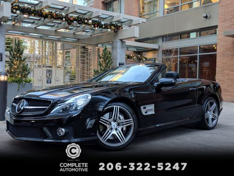 2009 Mercedes-Benz SL63 AMG High Performance Roadster 23,000 Local Mile 2 Owner 518HP Panorama Roof MSRP was $146,845 in Seattle