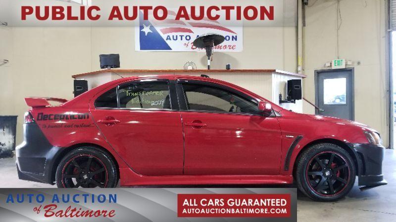 2009 Mitsubishi Lancer GTS | JOPPA, MD | Auto Auction of Baltimore  in JOPPA MD