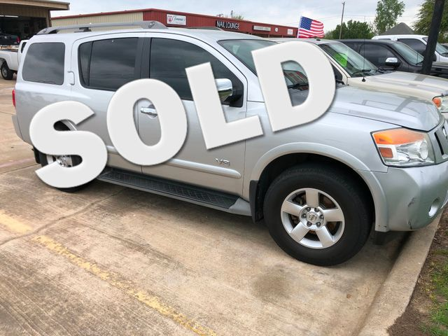 2009 Nissan Armada SE | Greenville, TX | Barrow Motors in Greenville TX