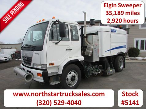 2009 Nissan Elgin Sweeper  in St Cloud, MN