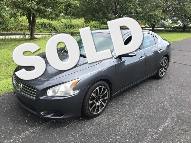 2009 Nissan-2 Owner!  Carfax Clean!! Maxima-LEATHER-MOONROOF!! SV-BUY HERE PAY HERE! Knoxville, Tennessee