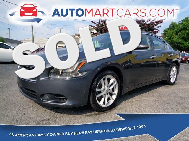 2009 Nissan Maxima 3.5 SV   Nashville, Tennessee   Auto Mart Used Cars Inc. in Nashville Tennessee