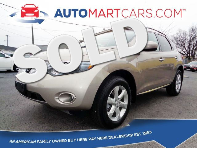2009 Nissan Murano SL | Nashville, Tennessee | Auto Mart Used Cars Inc. in Nashville Tennessee