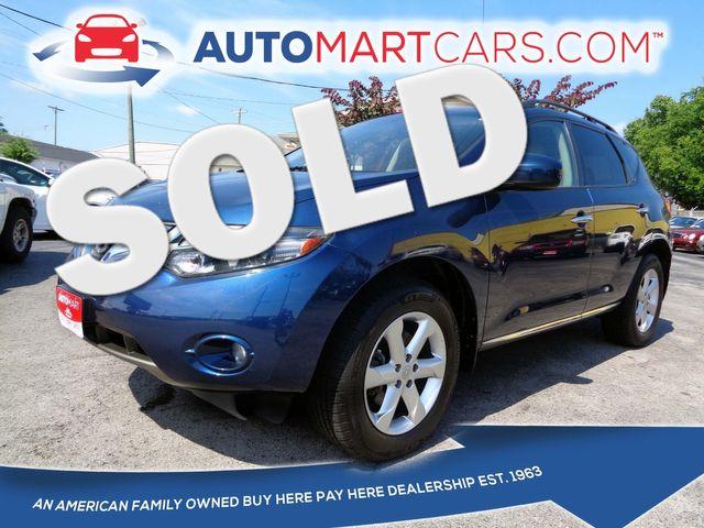 2009 Nissan Murano SL   Nashville, Tennessee   Auto Mart Used Cars Inc. in Nashville Tennessee