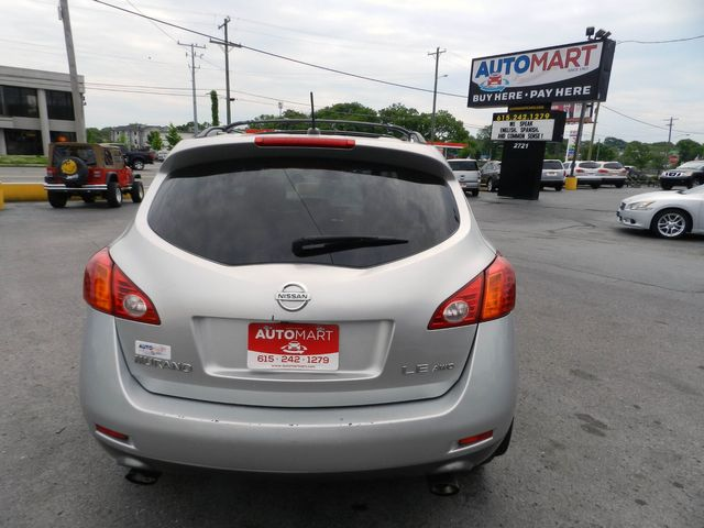 2009 Nissan Murano LE in Nashville, Tennessee 37211