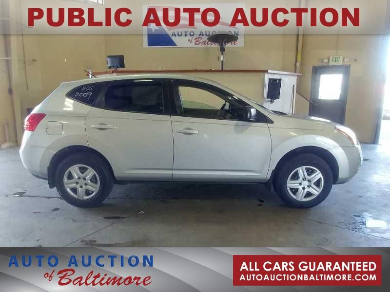 2009 Nissan Rogue S   JOPPA, MD   Auto Auction of Baltimore  in JOPPA MD