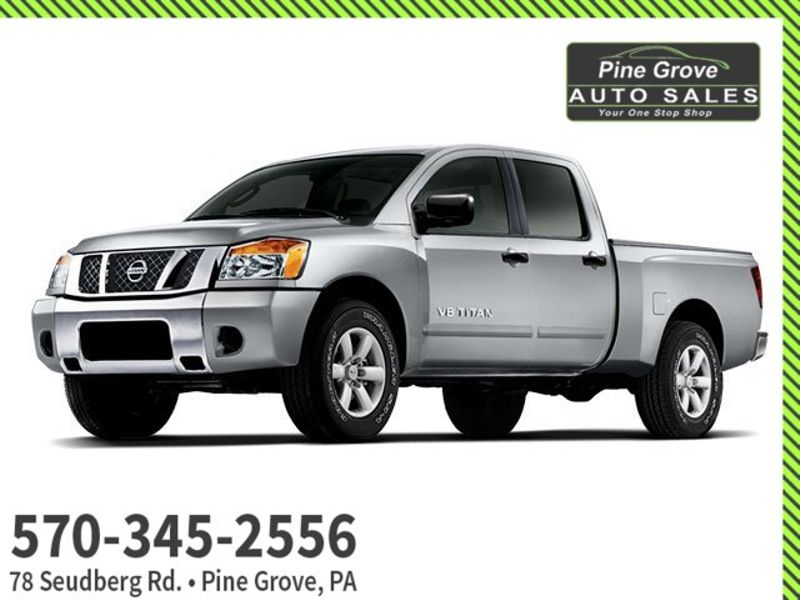 2009 Nissan Titan LE   Pine Grove, PA   Pine Grove Auto Sales in Pine Grove, PA