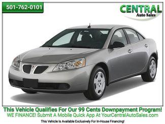 2009 Pontiac G6 GT w/1SA *Ltd Avail* | Hot Springs, AR | Central Auto Sales in Hot Springs AR