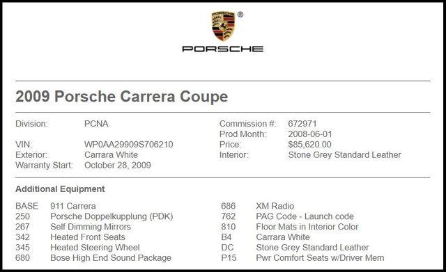 2009 Porsche 911 Carrera-[ 2 ]
