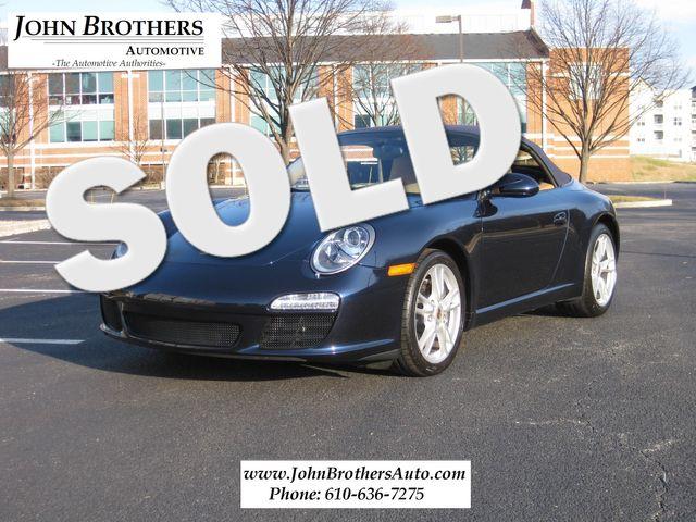 2009 Sold Porsche 911 Carrera Convertible (997.2) Conshohocken, Pennsylvania