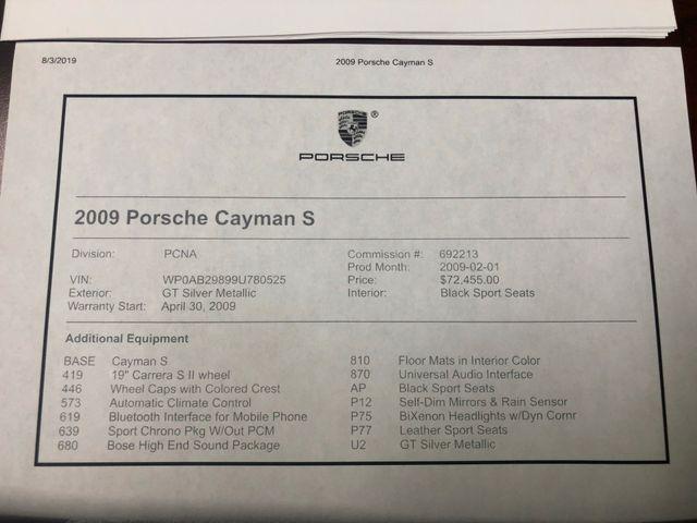 2009 Porsche Cayman S Longwood, FL 38