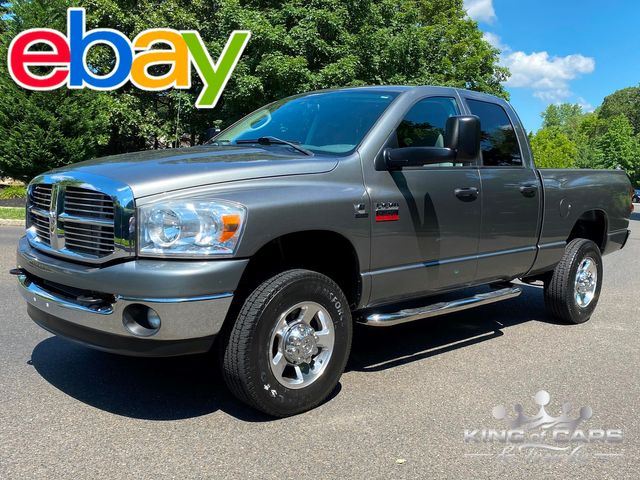 2009 Ram 2500 Cummins Diesel 6-SPEED MANUAL 4X4 ONLY 79K MILE PRE-DEF RARE