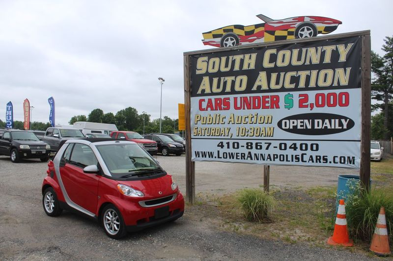 2009 Smart fortwo Passion  city MD  South County Public Auto Auction  in Harwood, MD