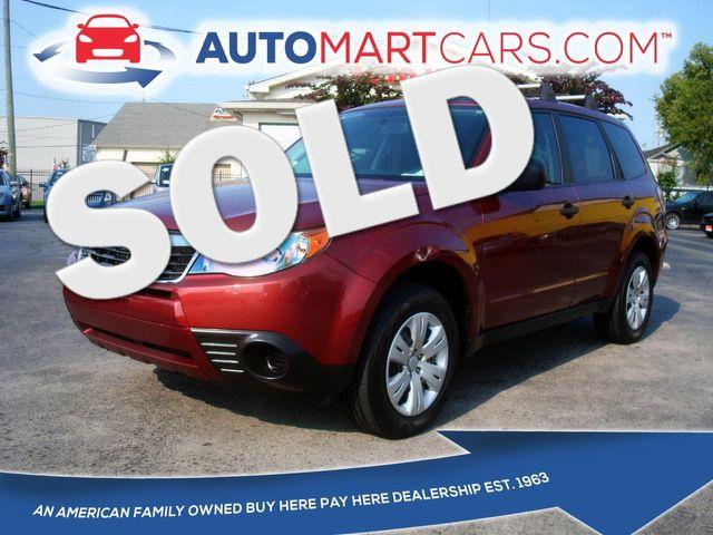 2009 Subaru Forester X   Nashville, Tennessee   Auto Mart Used Cars Inc. in Nashville Tennessee