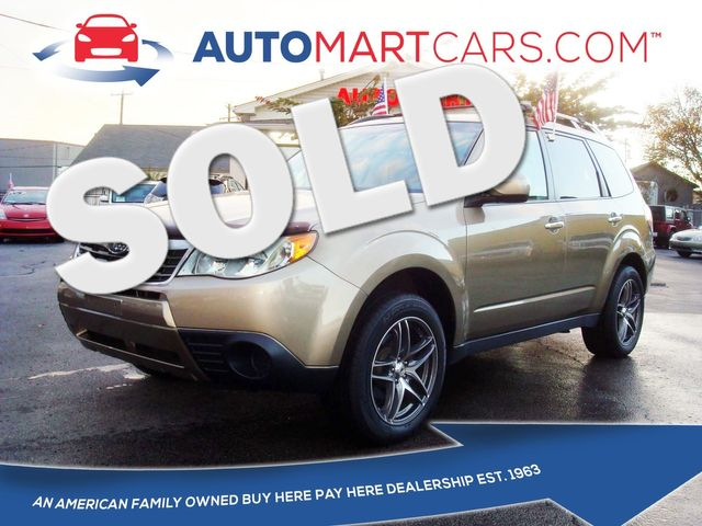 2009 Subaru Forester X w/Prem/All-Weather   Nashville, Tennessee   Auto Mart Used Cars Inc. in Nashville Tennessee