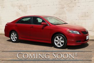 "2009 Toyota Camry SE w/Power Moonroof, JBL Audio, Bluetooth, 17"" Alloy Rims & Gets 30+ MPG in Eau Claire, Wisconsin 54703"