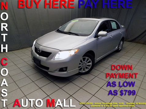 2009 Toyota Corolla As low as $799 DOWN in Cleveland, Ohio