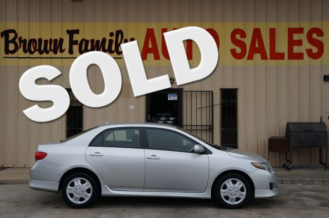 2009 Toyota COROLLA BASE | Houston, TX | Brown Family Auto Sales in Houston TX