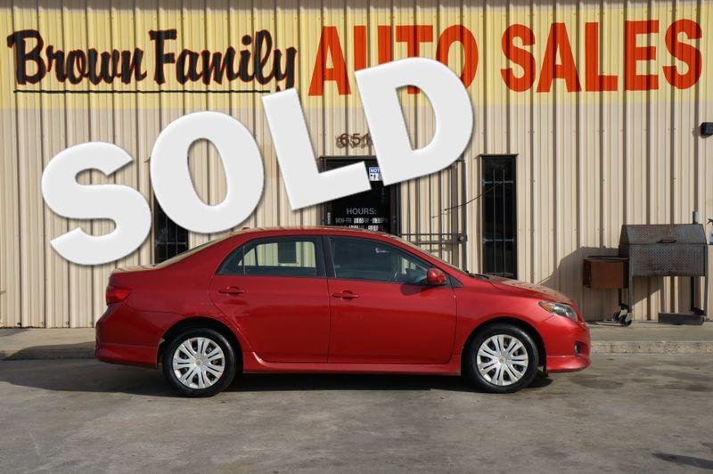 2009 Toyota COROLLA BASE   Houston, TX   Brown Family Auto Sales in Houston TX