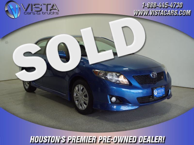 2009 Toyota Corolla S  city Texas  Vista Cars and Trucks  in Houston, Texas